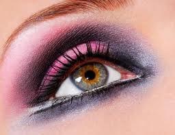 MAQUIAGEM olhos rosa