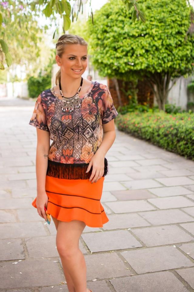 look laranja Carol Birk 00