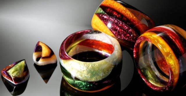 resina bijoux