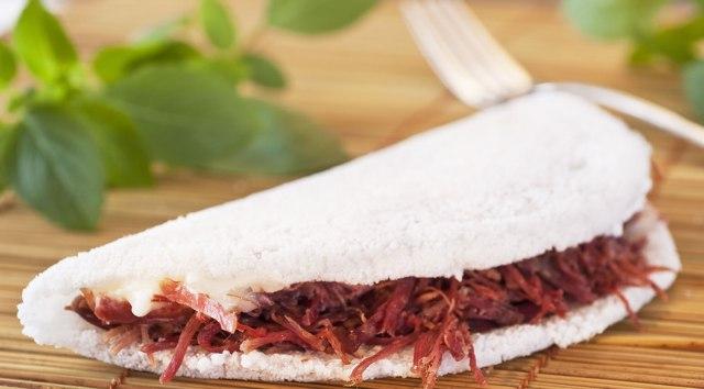 tapioca carne seca